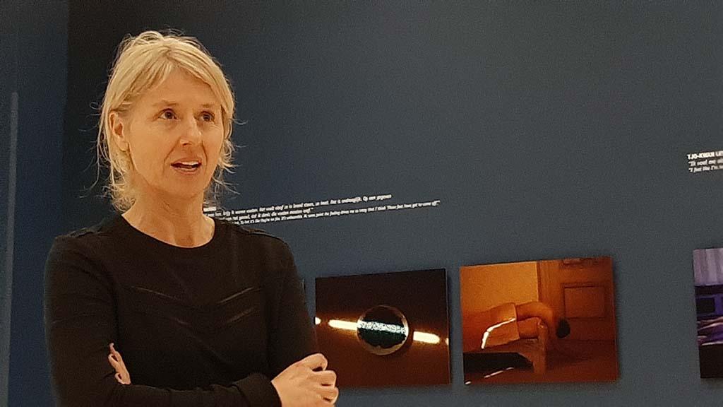 Annabel Oosteweeghel vertelt over maakproces Insomnia © Wilma Lankhorst