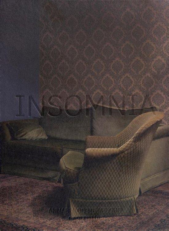 Omslag boek Insomnia © Annabel Oosteweeghel en Carlijn Vis