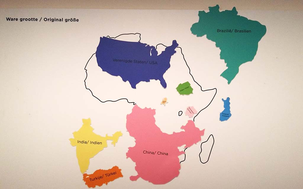 Inspirerend_Afrika_ kaart van Afrika_©foto Wilma_Lankhorst
