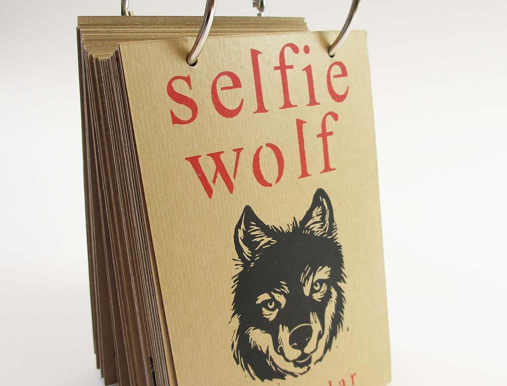 Marijke_van_Dijk_Selfie Wolf Calendar (2014)