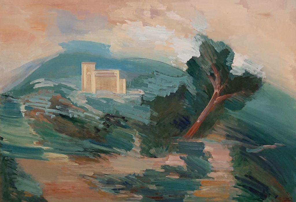 Nieuw landschappen in zaal 8 © Dora Maar