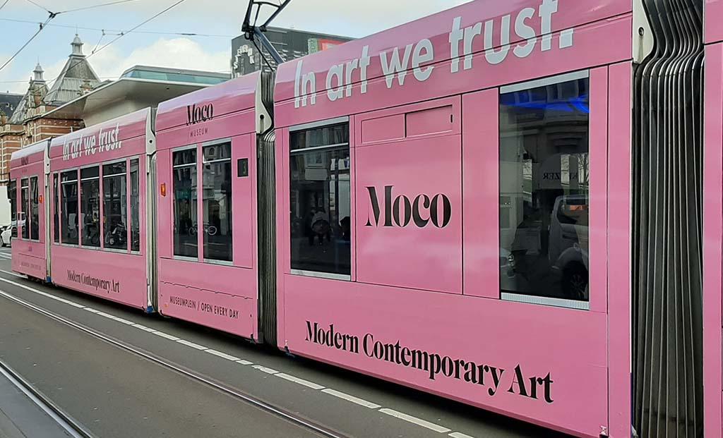 Moco_Museum Tram In art we trust © foto Wilma_Lankhorst