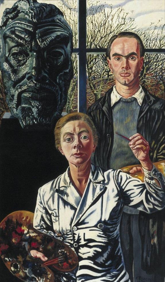 Charley_Toorop, de drie generaties ( 1941-1950) Collectie Museum Boijmans Van Beuningen