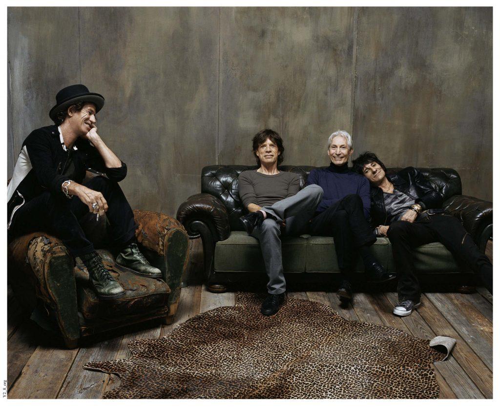 The Rolling Stones nu © foto Steve Klein