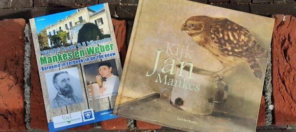 Jan Mankes wandelroute folder en Gelder_Boek © foto Wilma_Lankhorst
