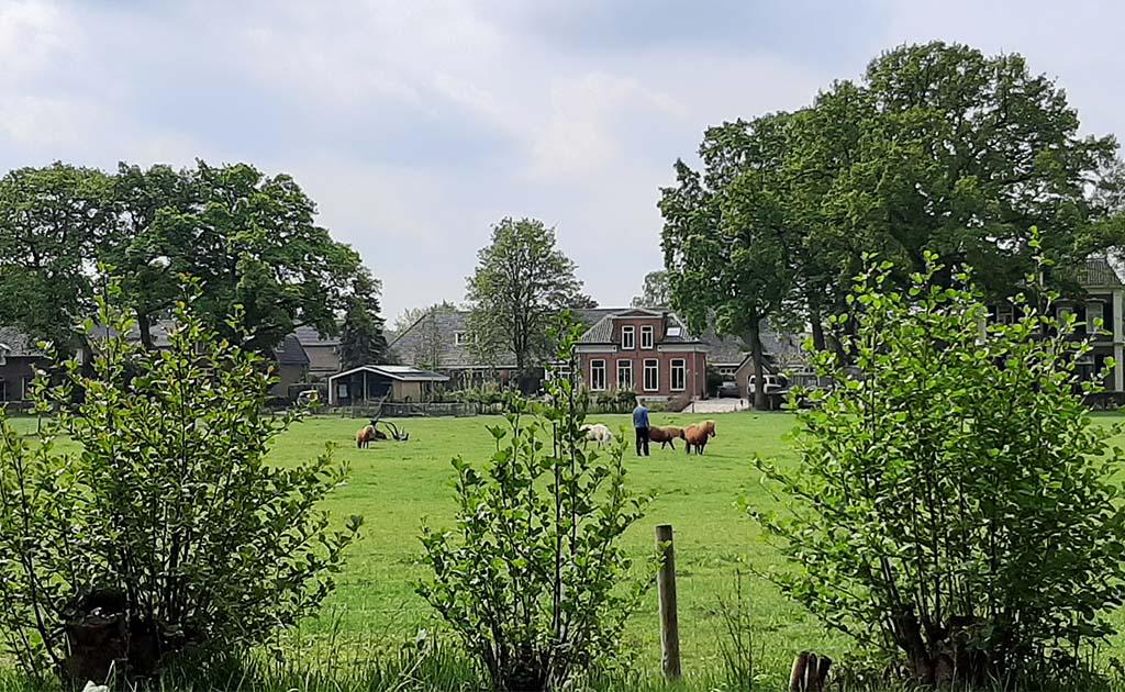 Eerbeek_Jan_Mankes woonhuis gezien vanaf Huis te Eerbeek © foto Wilma_Lankhorst