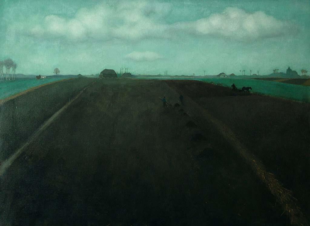 Jan_Mankes-Bouwland-1917-Collectie-Museum-Belvédère_-Heerenveen-Oranjewoud
