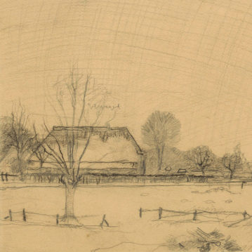 Jan_Mankes_Winter-in-Eerbeek-Molenstraat-2-1917-collecie-tekening-Rijksprentenkabinet-Amsterdam