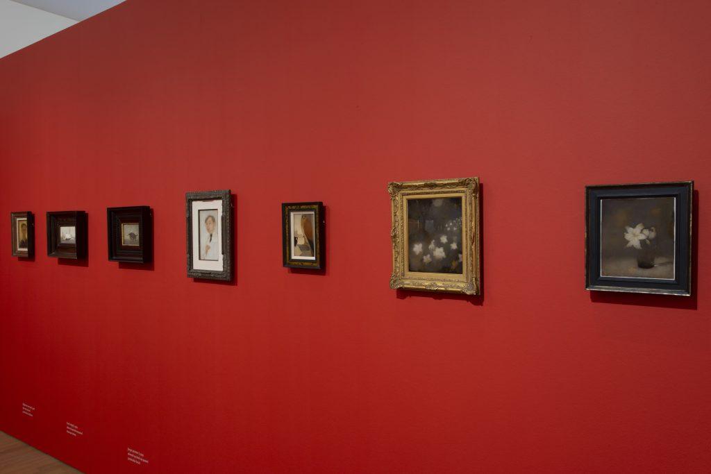 Jan Mankes de werkelijkheid niet egin van de expositie Museum MORE © foto Joop van Putten
