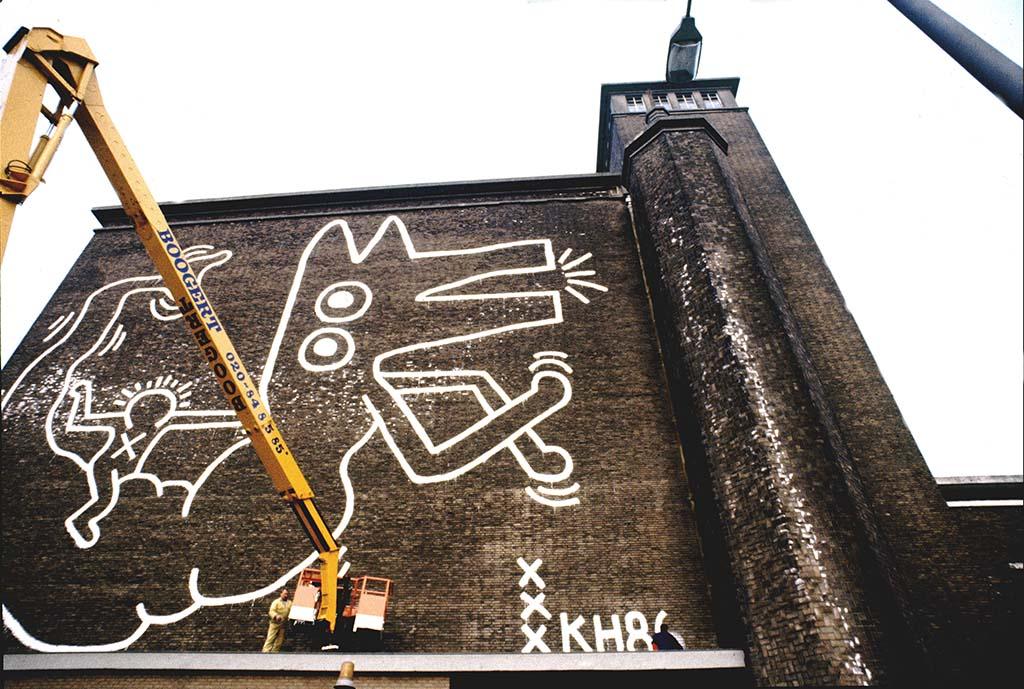 Keith Haring de Hallen Amsterdam © foto Patricia Steur