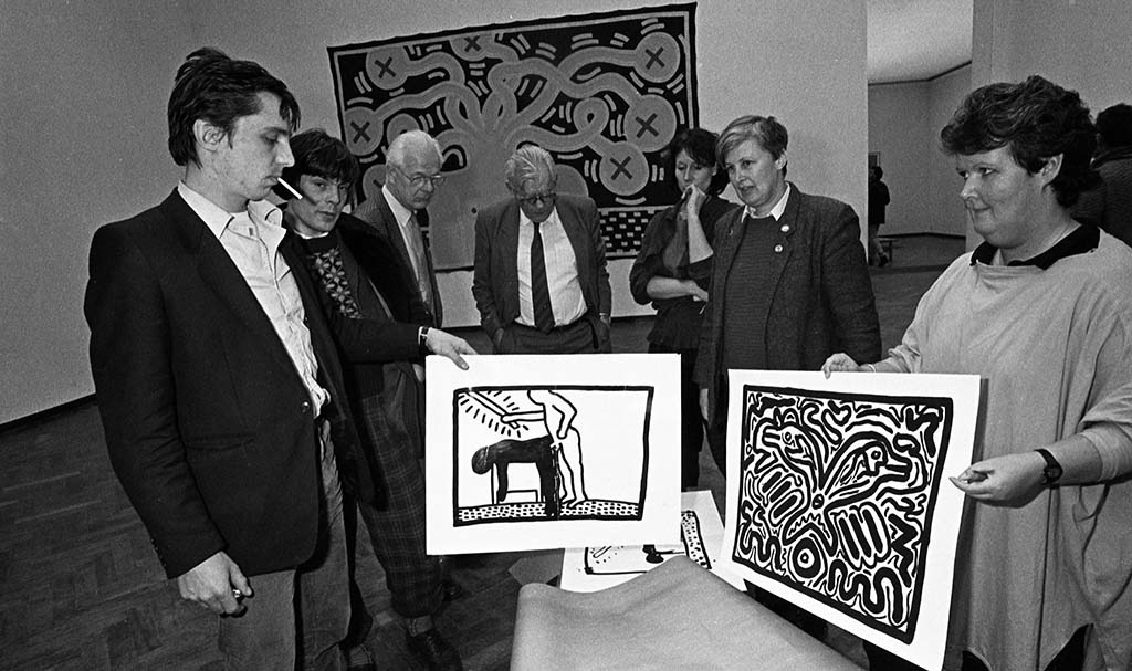 Keith_Haring_expositie KH86 Stedelijk Amsterdam © foto Patricia Steur