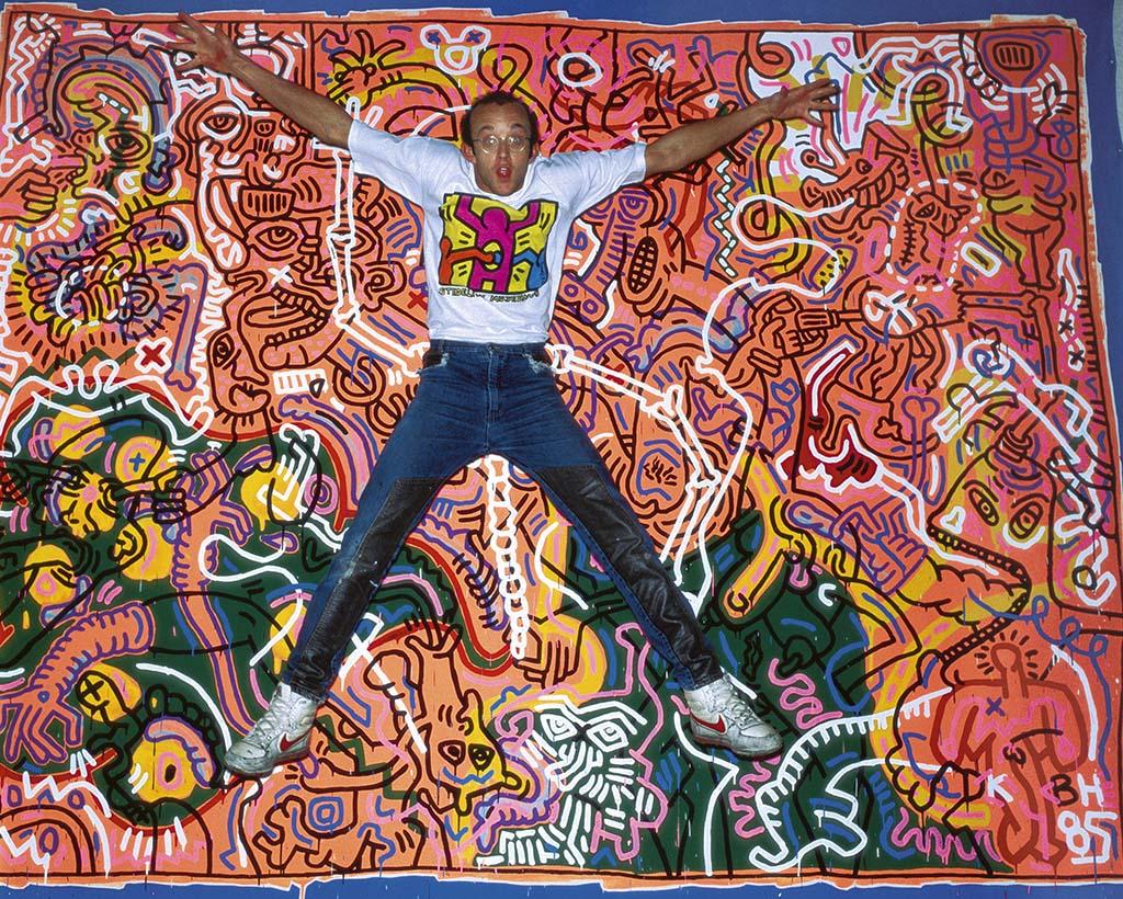 Keith Haring_jump Amstedam 1986 foto © Patricia Steur