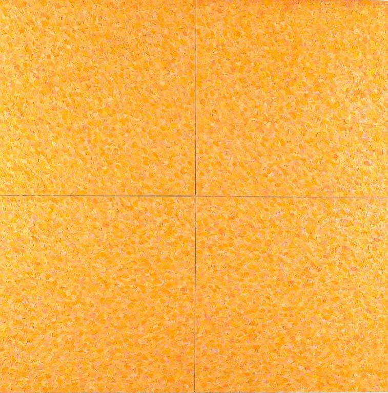 Het Grote Gele Doek (2007) © Jan Wolkers Collectie De Lakenhal