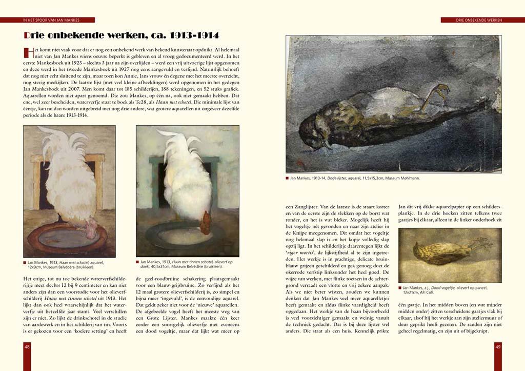 In_het_spoor_van_Mankes p48-49 drie onbekende werken © foto Museum Mohlmann