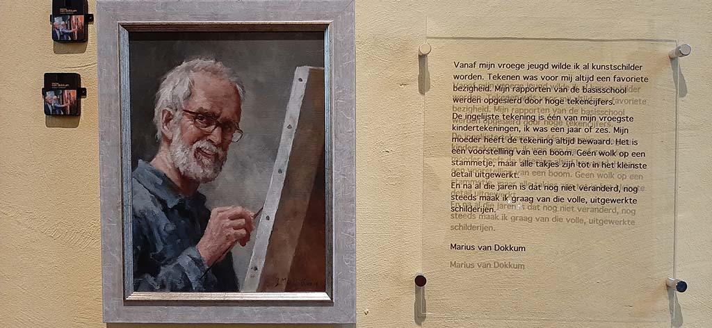 Marius_van_Dokkum_zelfportret © foto Wilma_Lankhorst