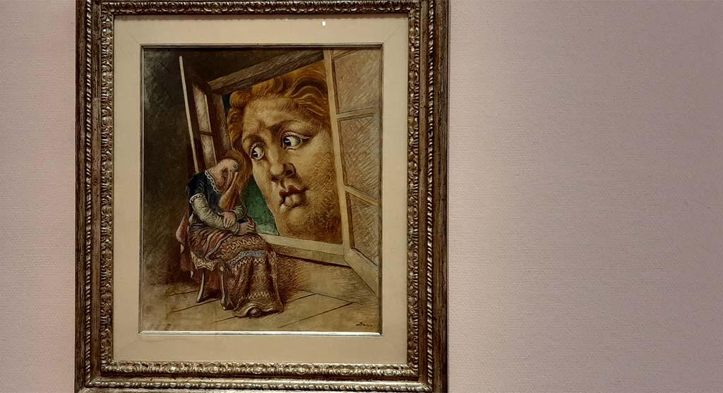 Mondo Mendini zaal 7 Annunciata (1932) Alberto Savinio © Wilma Lankhorst