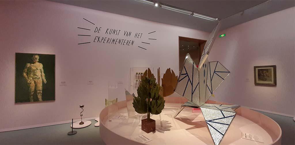 Mondo Mendini zaal 7 de Kunst van het experimenteren © Wilma Lankhorst