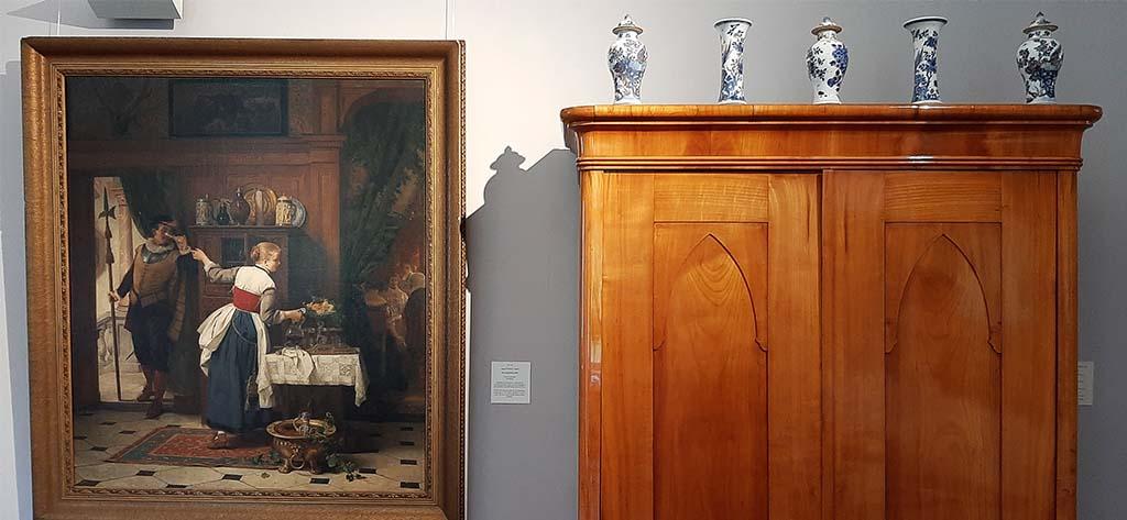 Koekkoek Huis AF Siegert Der liebesdienst (1870) © foto Wilma Lankhorst