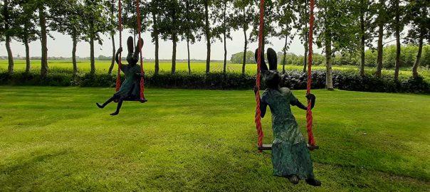 Swing I en Swing II © Helene Steenhof © foto Wilma Lankhorst