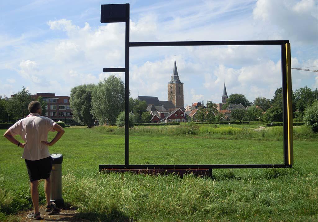 Kunstrondje Achterhoek VillaMondriaan Winterswijk wandeling foto Wilma Lankhorst