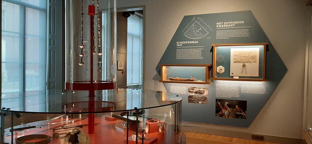 Musea Zutphen zal met het Zutphense kwadrant © foto Wilma Lankhorst