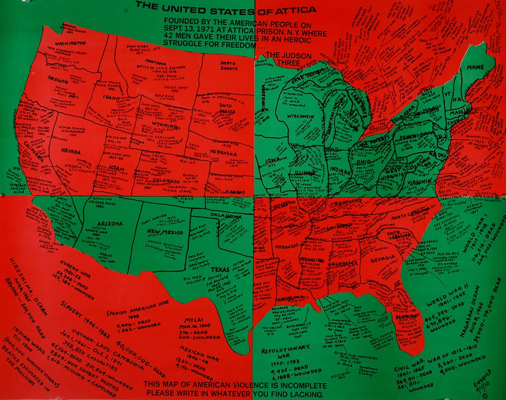 Tell me your story Civil_Rights_ Faith_Ringgold (1930) US of Attica