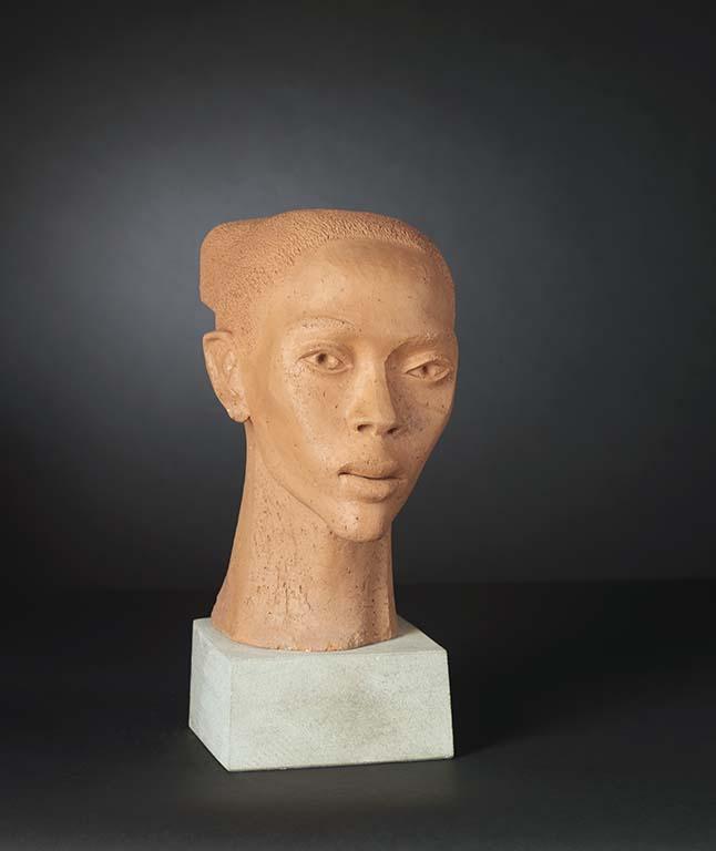 Tell_me_your_story_Post_Harlem_Renaissance_ Elizabeth_Catlett (1915-2012) Young Girl