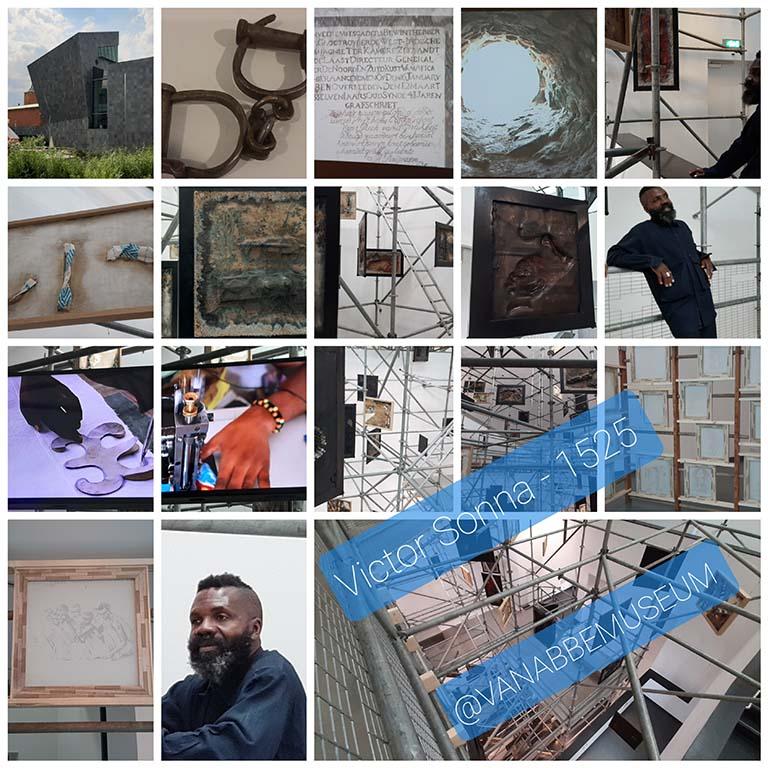Victor_Sonna LR_collage van abbemuseum foto Wilma_Lankhorst