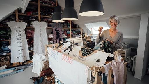 Marjolein_Burbank Portret, gemaakt door Auke Hamers voor TextielPlus