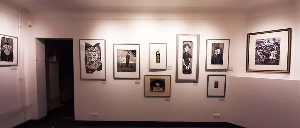 75 jaar vrijheid Stadsmuseum_Doetinchem_diverse werken Otto Pankok © foto Wilma_Lankhorst