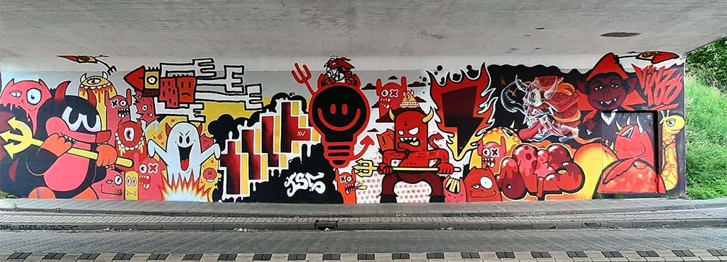 Street_Art_Eindhoven_ Insulindelaan_LEMPKE_Naamloozz etc © foto Wilma_Lankhorst