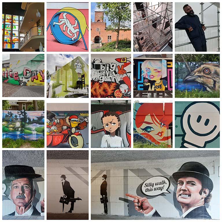 Street_Art_Eindhoven_ collage © foto Wilma_Lankhorst