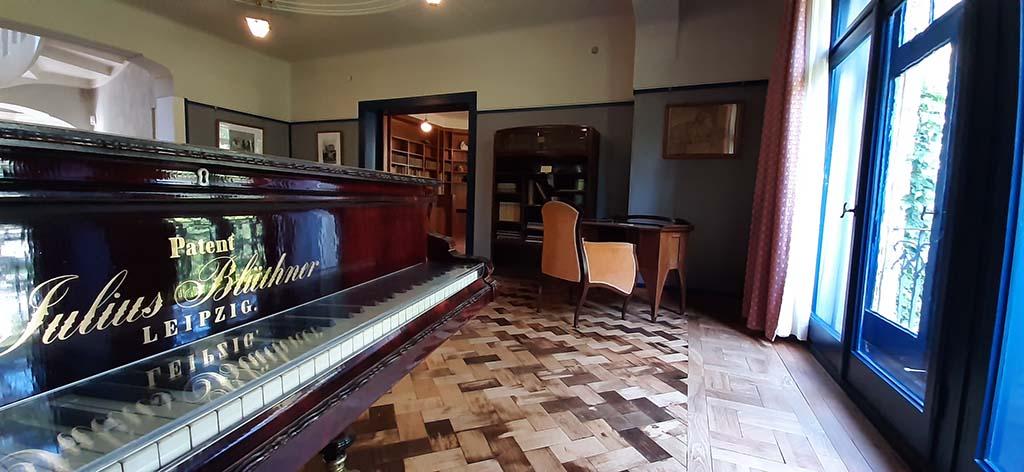 Weimar Haus Hohe_Pappeln_vleugel van pianist Maria Van de Velde © foto Wilma_Lankhorst