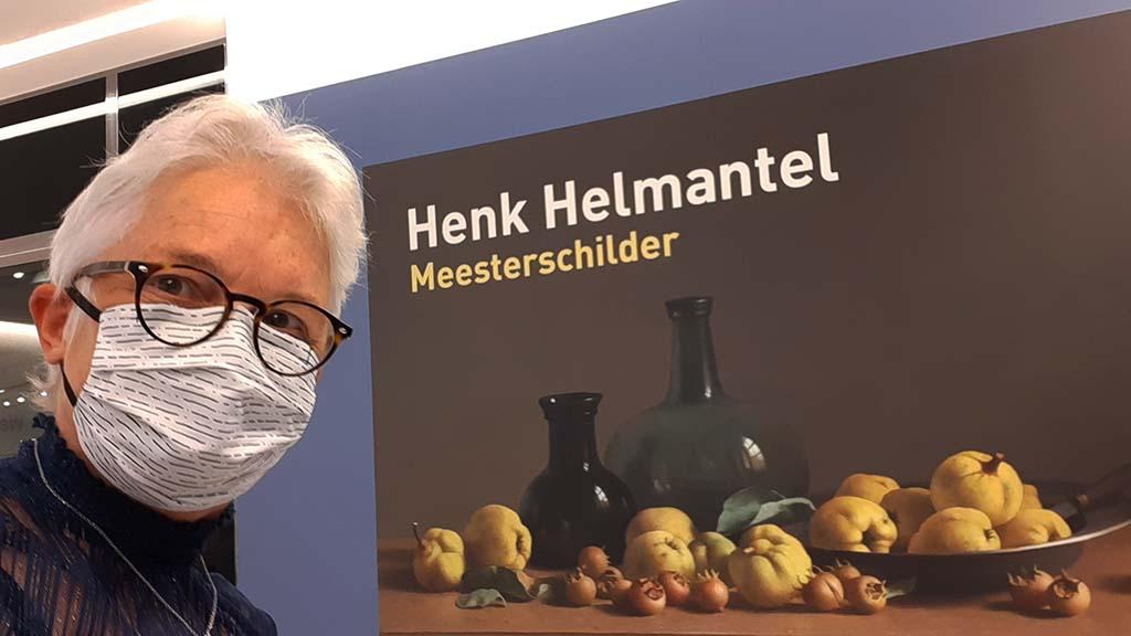 Henk Helmantel Meesterschilder Wilma bij entree © foto Wilma_Lankhorst