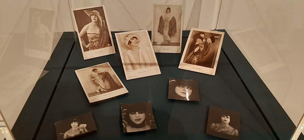 Nieuwe_Kaders_fotos actrice Asta Nielsen uit nalatenschap Pyke Koch © foto Wilma_Lankhorst