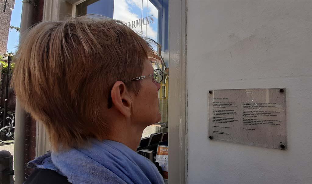 Muurgedichten_Leiden_Mijn verzen vertaling _ © foto Wilma_Lankhorst