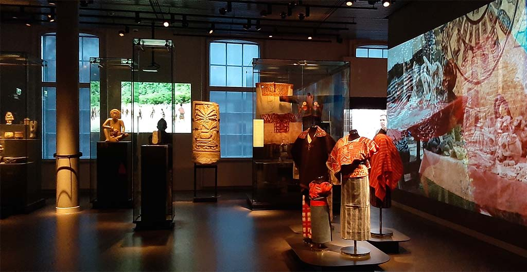 Musea 2021 Sfeerbeeld Zaal Midden Amerika Museum Volkenkunde Leiden © foto Wilma_Lankhorst