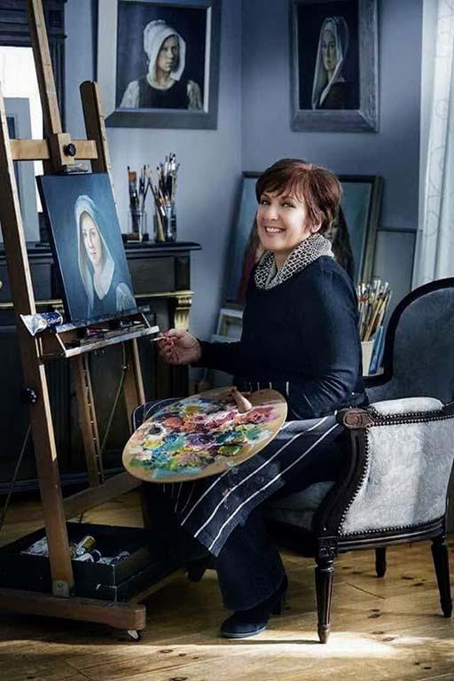 Slavica Sekuloski in haar atelier © Slavica_Sekuloski