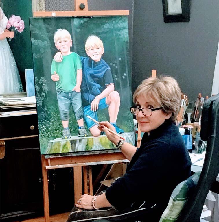 Slavica Sekuloski in haar atelier 2 © Slavica_Sekuloski