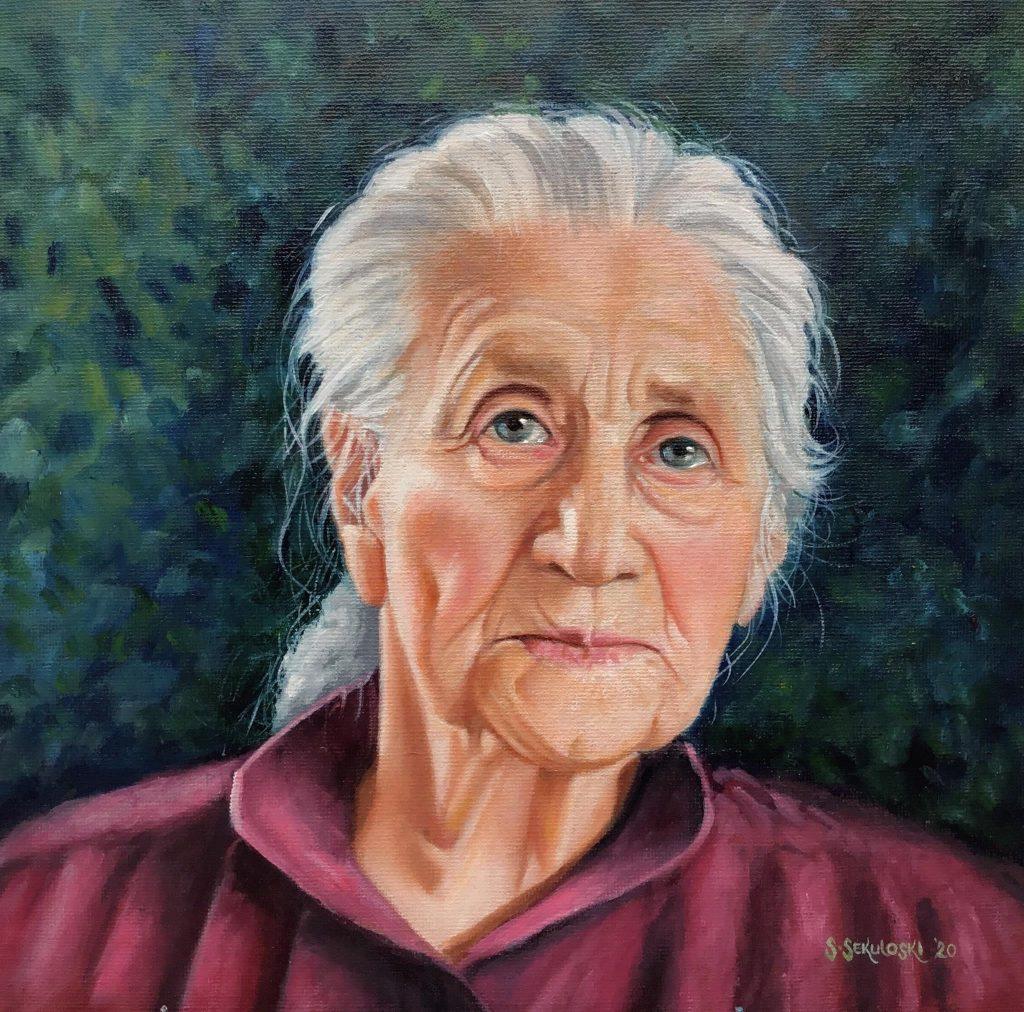Slavica Sekuloski portret Vida © Slavica Sekuloski