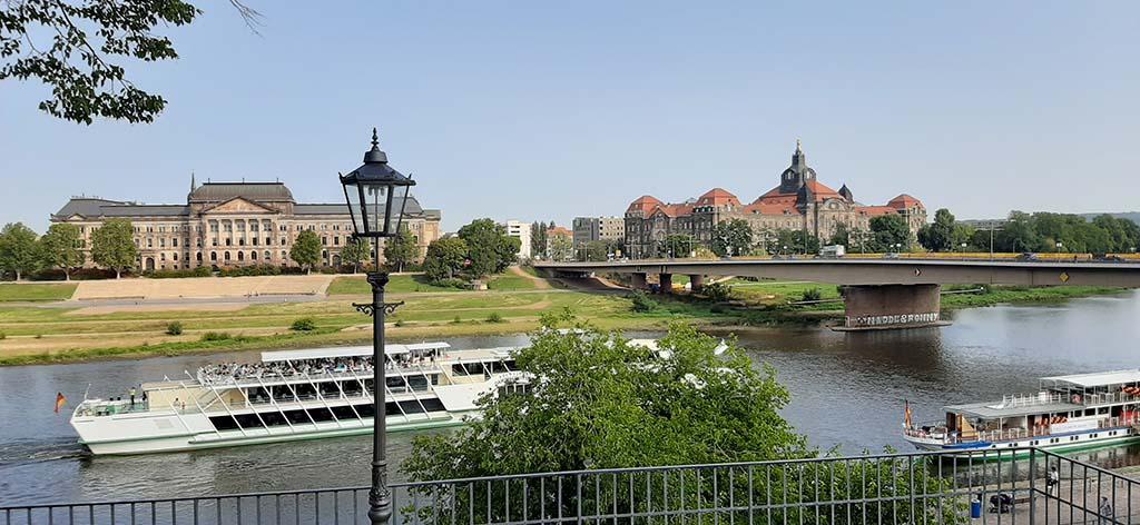 Dresden Florence aan de Elbe © foto Wilma Lankhorst