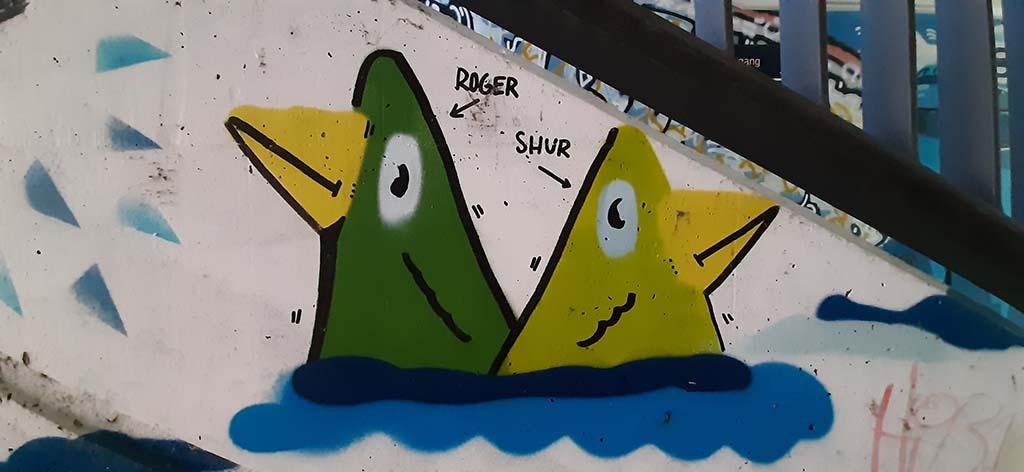 Dresden street art Roger_en_Shur_Neustadt © foto Wilma_Lankhorst
