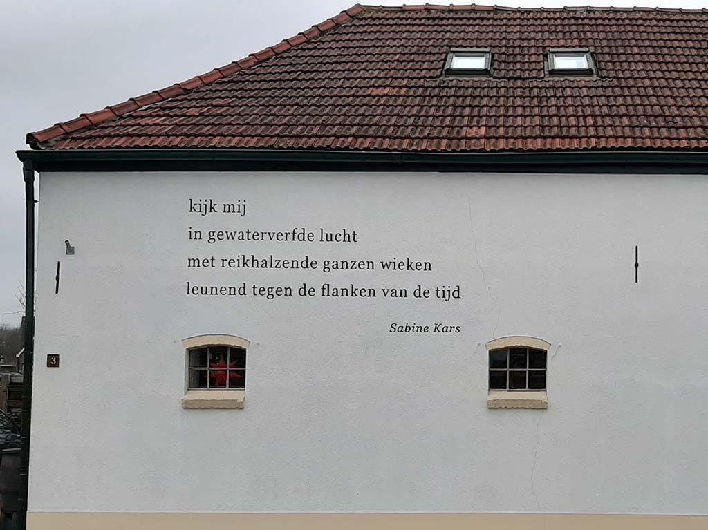 muurpoëzie Zutphen_Sabine_Kars © foto Wilma_Lankhorst