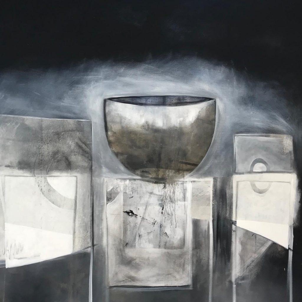 Kunstenaar in coronatijd Monique_Wolbert- No words (2020)