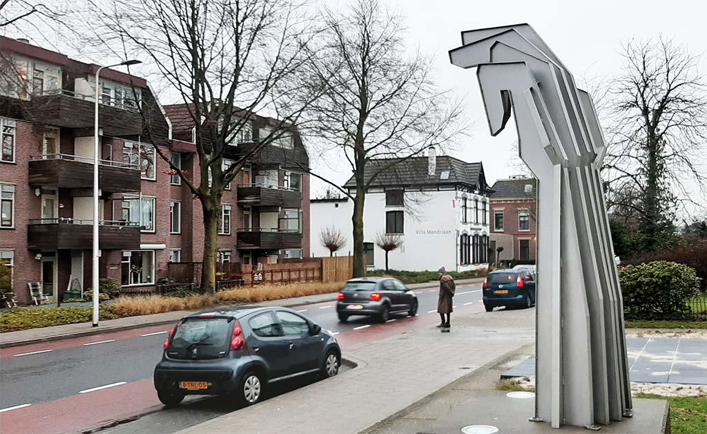 Winterswijk De arm van Mozes (1994-1995) © Vic Hulshof © foto Wilma Lankhorst