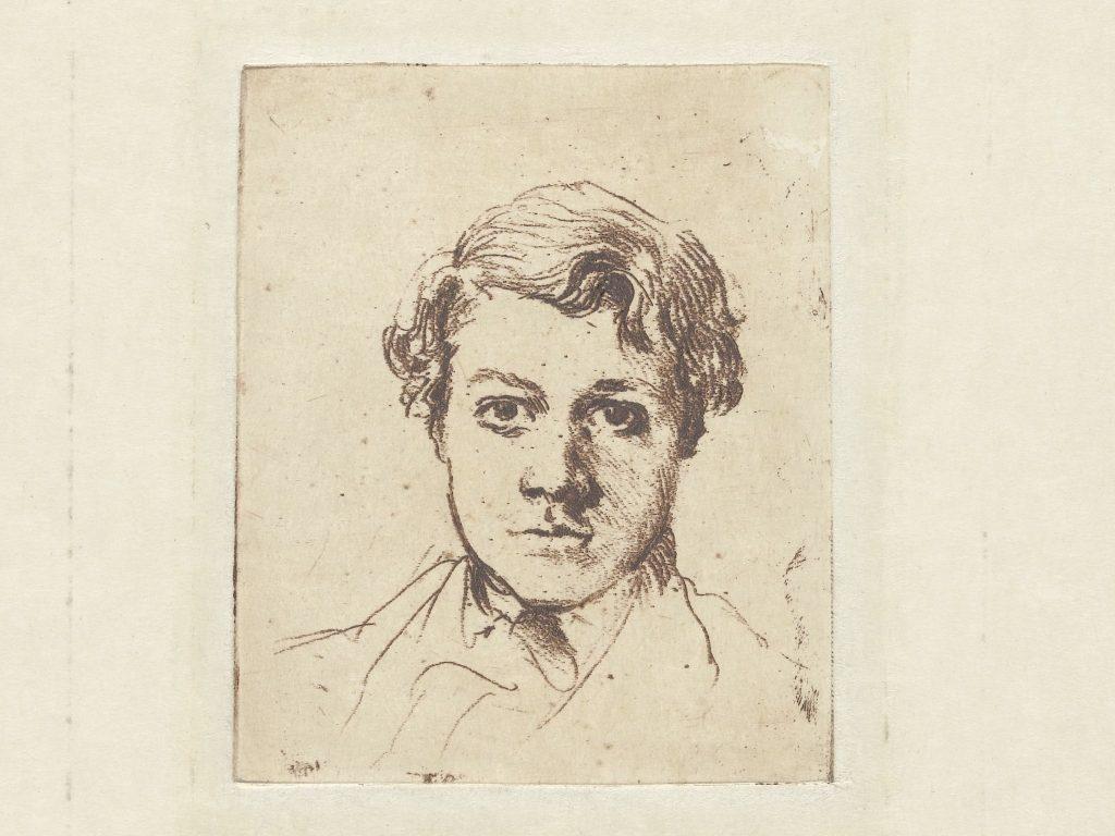 René Degas, getekend door zijn broer Edgar Degas © collectie Rijksmuseum Amsterdam.