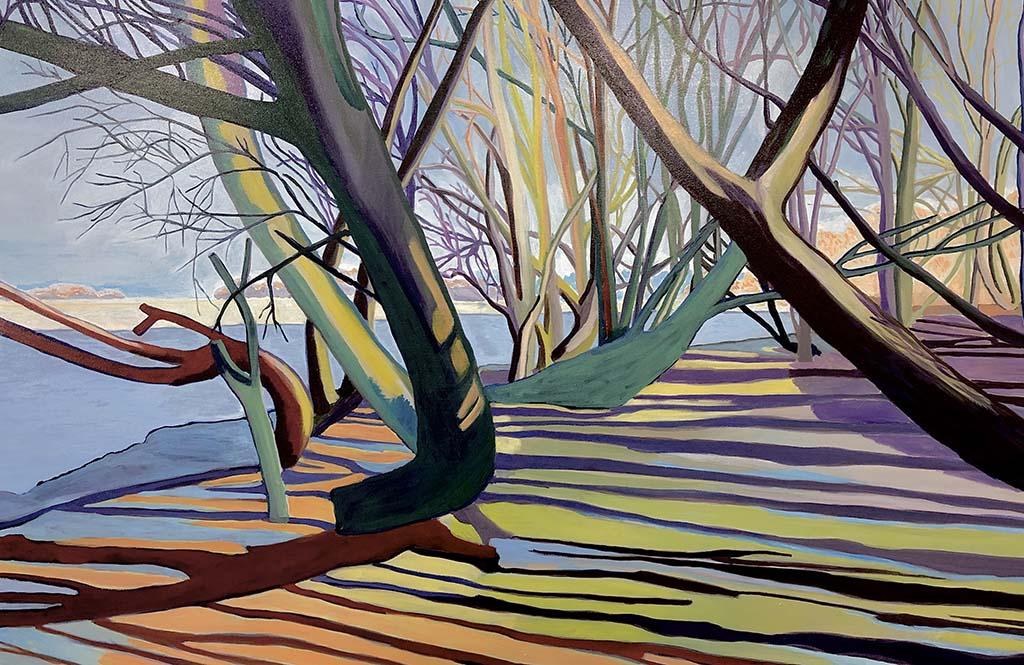 Doro Krol Wilgenbos (2020) 100 x 150cm © Doro Krol