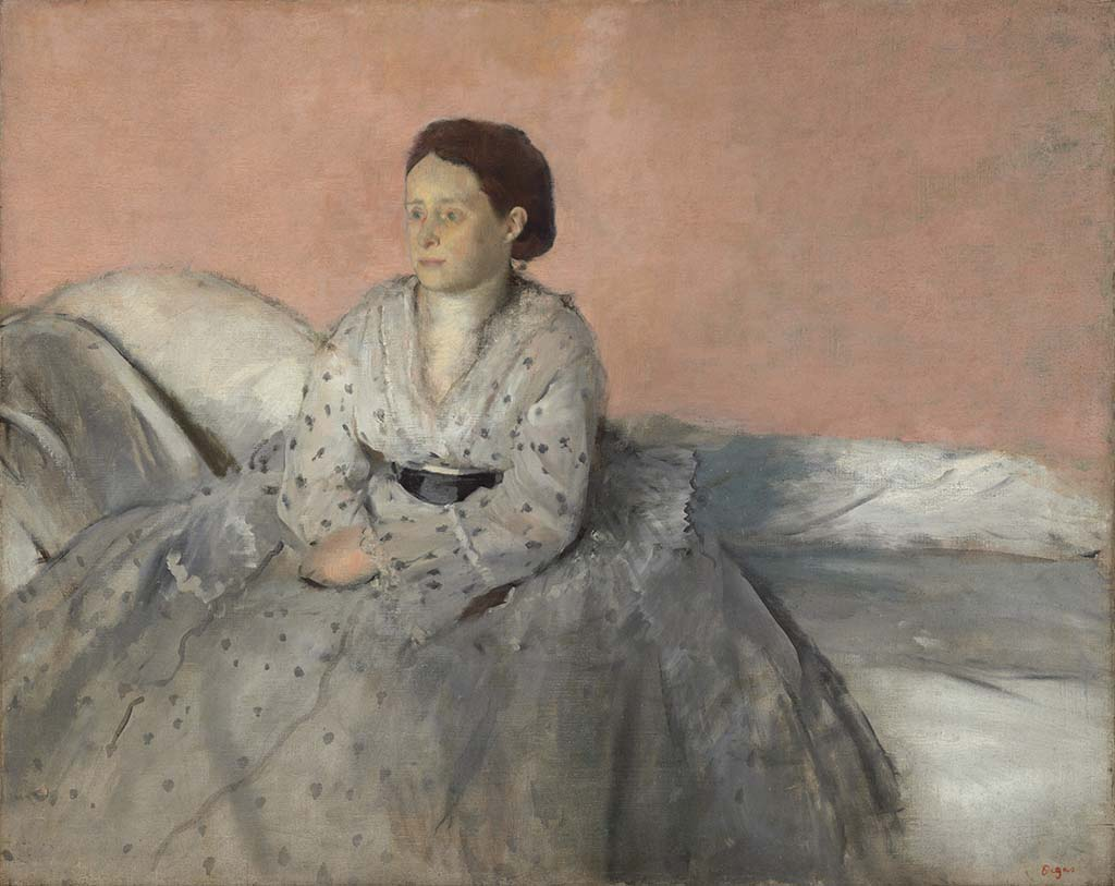 Mrs._Degas_Madame_Rene_De_Gas (1872-1873) New Orleans © Edgar_Degas_ Coll Nat. Gallery Washington