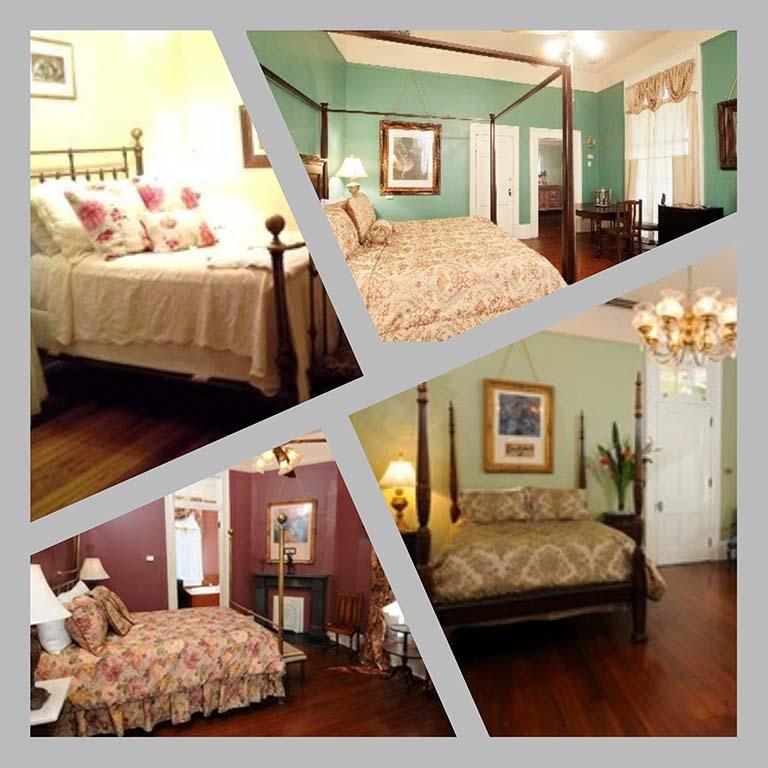Mrs. Degas 4 kamers van B&B Degas House_ New Orleans © collage Wilma_Lankhorst
