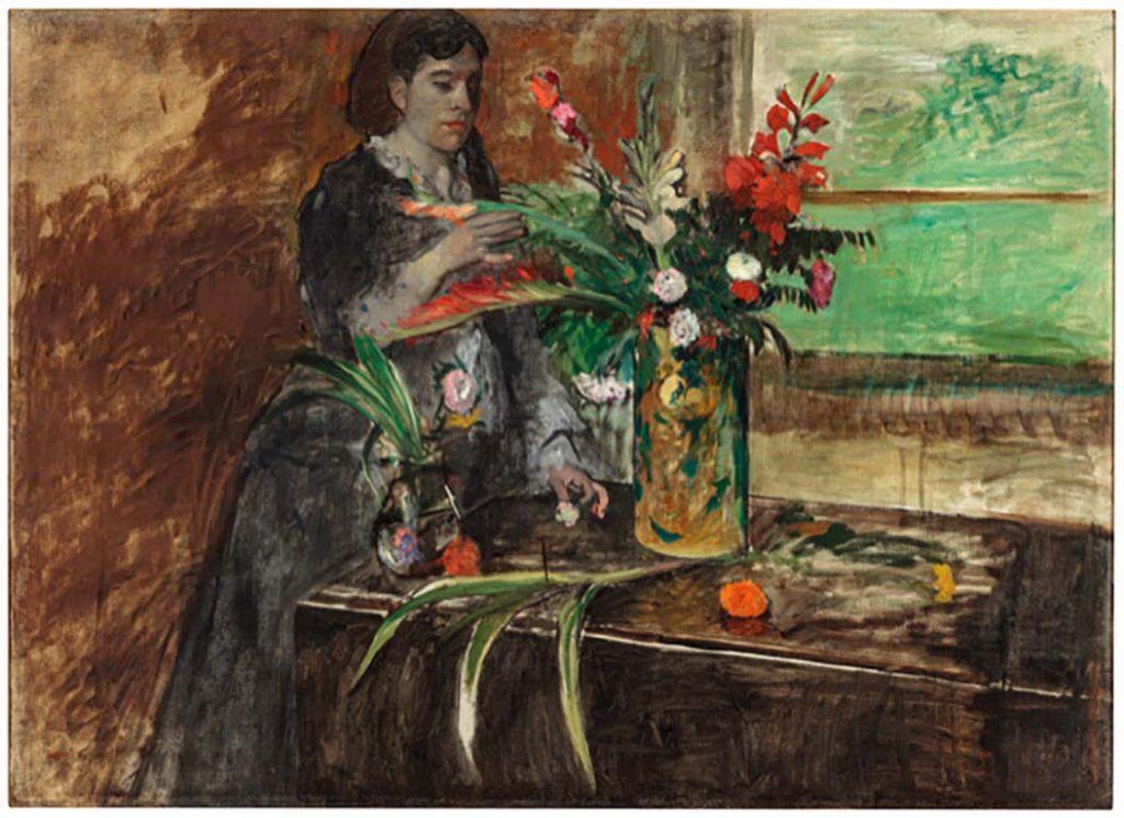 Mrs.Degas Arthur_Japin_Mrs Rene Degas © Edgar Degas (1872) New Orleans © collection New Orelans Museum of Art